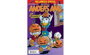 Halloween-blad på gaden