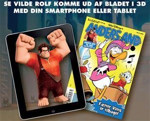 Vilde Rolf har gemt sig i dit blad!