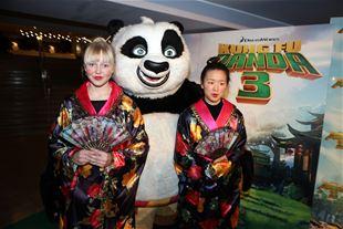 Gallapremiere på Kung Fu Panda 3