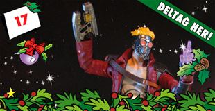 17. december • VIND: Marvel Select Guardians of the Galaxy Star-Lord actionfigur
