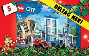 5 .december - vind LEGO City politistation