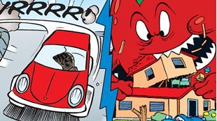Tomaten – den farligste grøntsag i Andeby