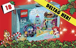 18. december • Vind LEGO Disney Ariel og trylleformularen