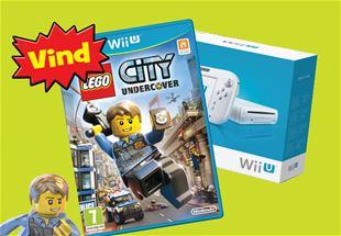 Se hvem der vandt: Wii U og LEGO® City: Undercover!