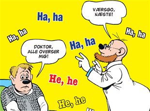 Doktor, alle overser mig!