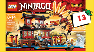Vind LEGO Ninjago