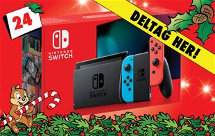 24. december - Vind Nintendo Switch