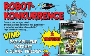 Afsluttet: Robotkonkurrence