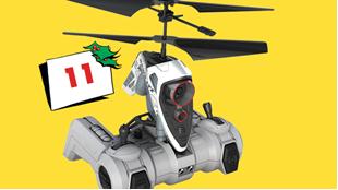 Afsluttet: Vind AIR HOGS spionhelikopter