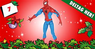 7. december • VIND Spider-Man-actionfigur