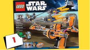 Afsluttet: Vind LEGO STAR WARS