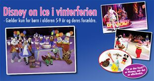 Se hvem der vandt Disney on Ice -