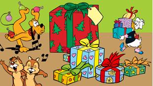 Skab julestemning i Comic Creator