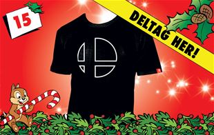 15. december - Vind Super Smash Bros. Ultimate T-shirt!