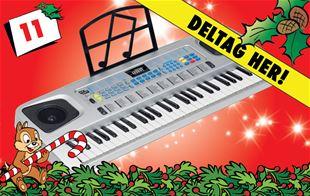 11. december - Cloudberry Castle keyboard
