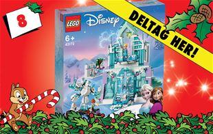8. december - Vind LEGO Elsas magiske ispalads