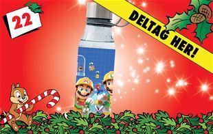 22. december - Vind Super Mario Maker 2-drikkedunk!