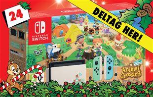 24. december - Vind Nintendo Switch og Animal Crossing