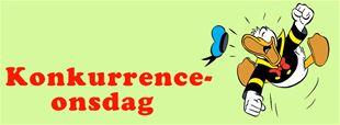 Afsluttet - Konkurrence-onsdag: Hvem indtager Andeby.dk i Anders And & co nr 43?