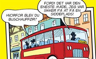 Hvorfor blev du buschauffør?