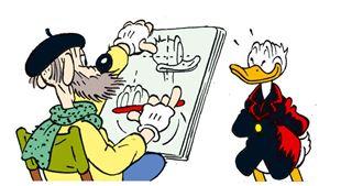 Se læsernes flotte Anders And-tegninger!