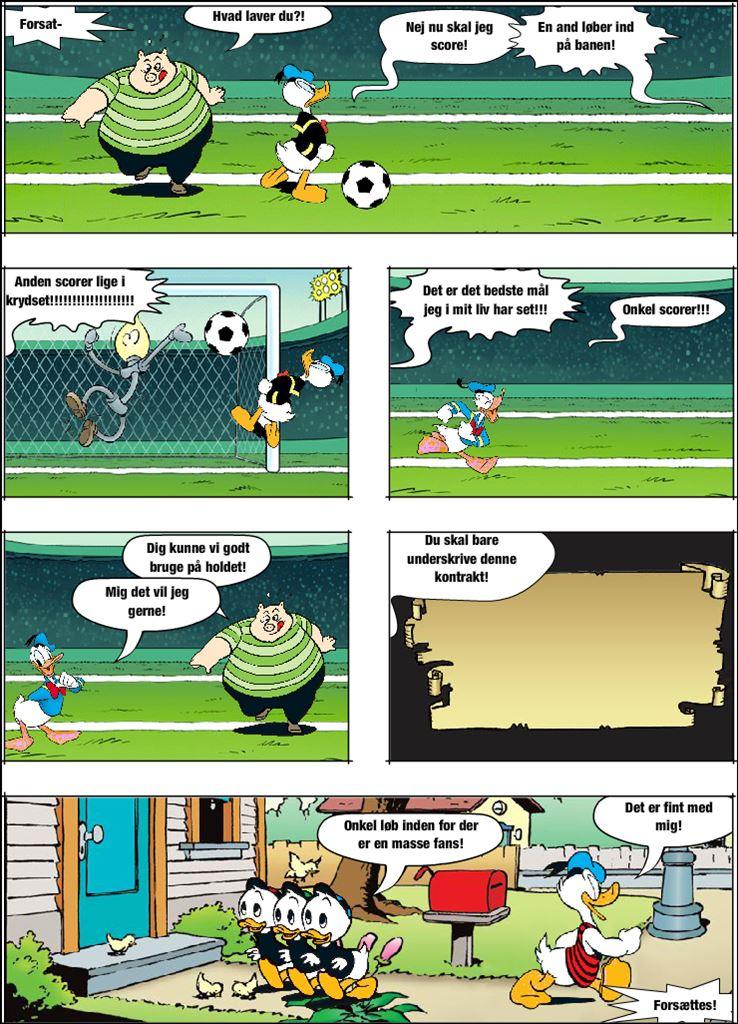 Livet som fodfoldspiller. Del 2 Målet!
