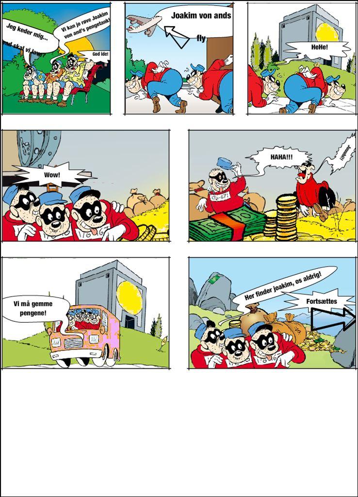 Bjørnebanden stjæler guldet! DEL 1