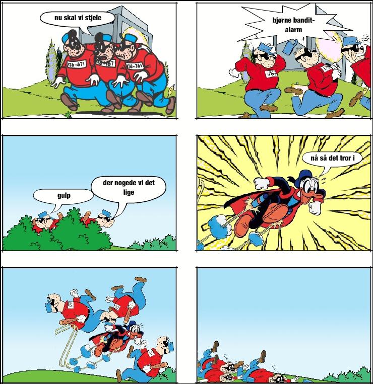 bjørne banditer! i må ikke stjele!
