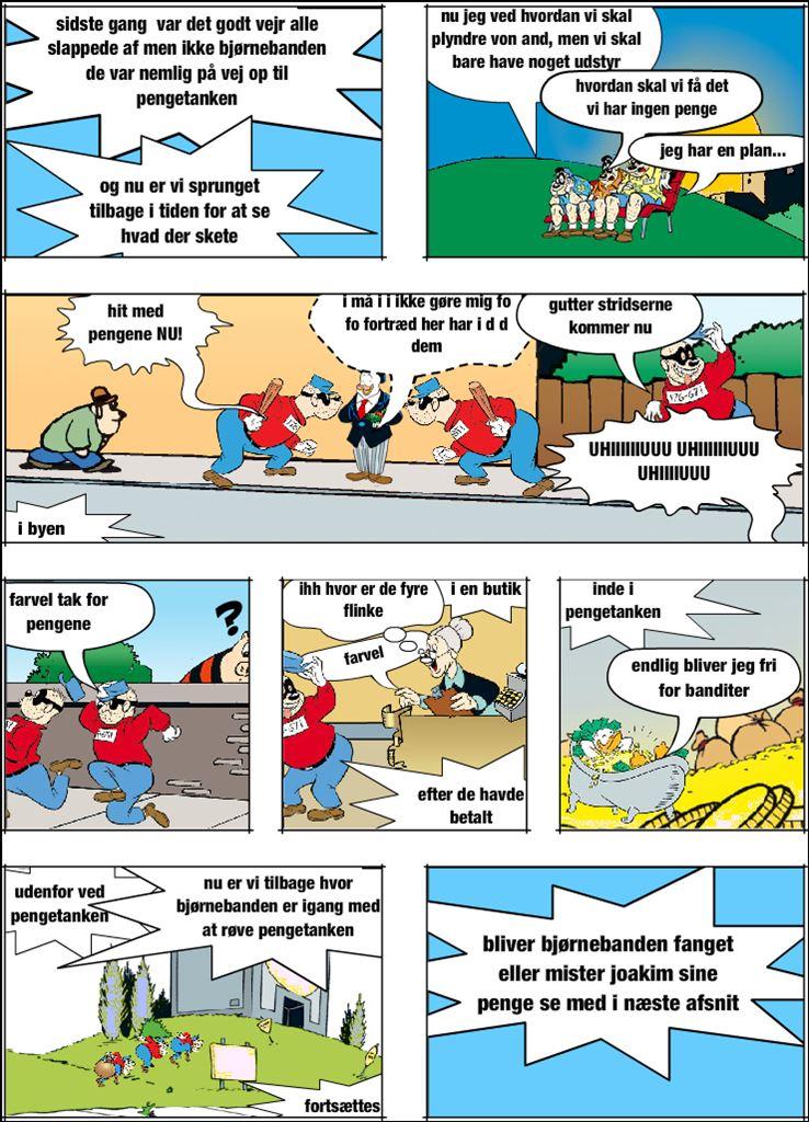 ANDERS AND bjørnebandens plan 2