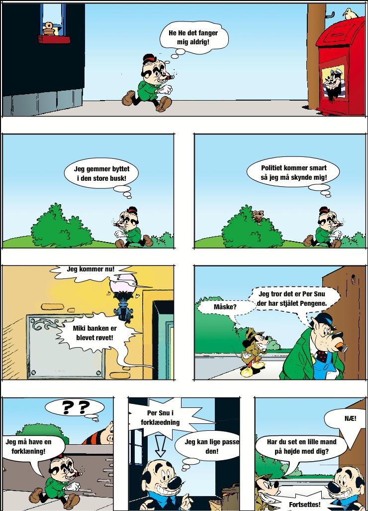 Asma and: En bank røveri!