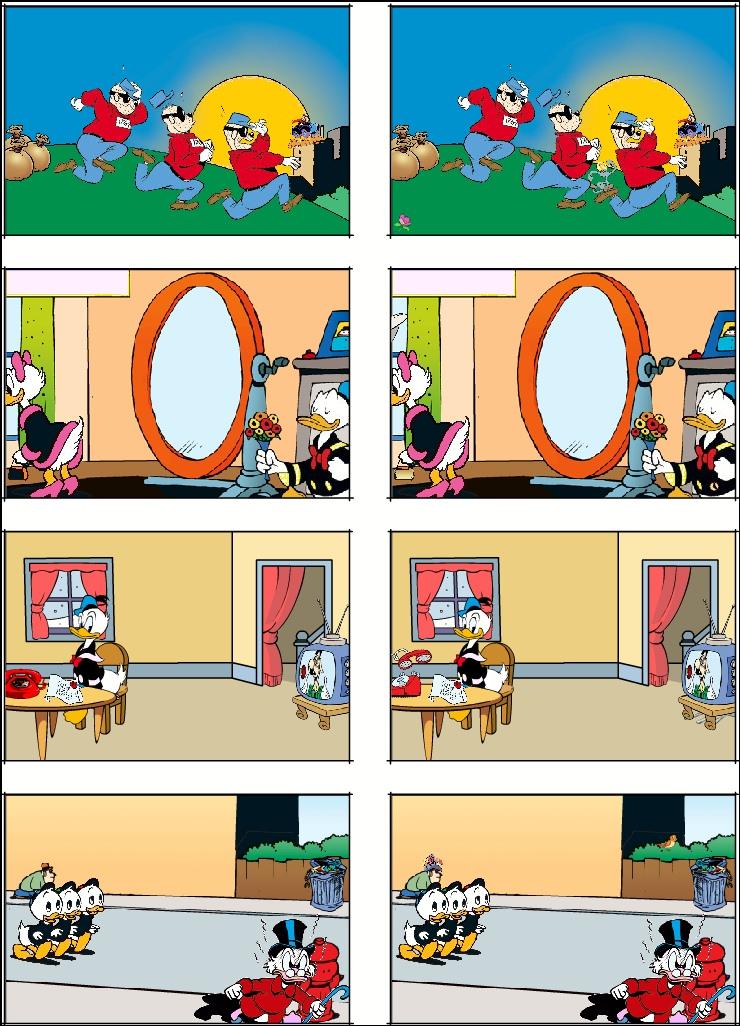 Find tre fejl på alle billederne til højre