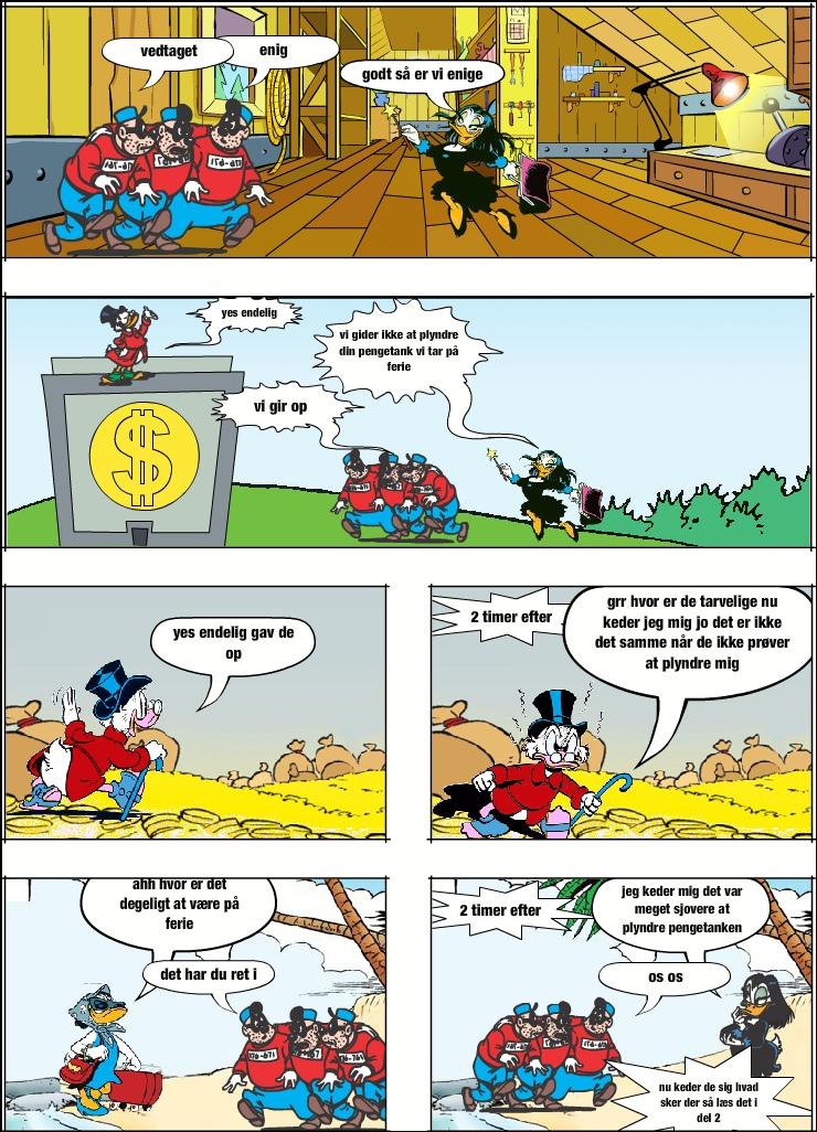 pengetank+banditter=kedsomhed