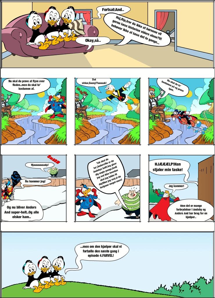 Anders And er fattig (bliver super-helt) 3