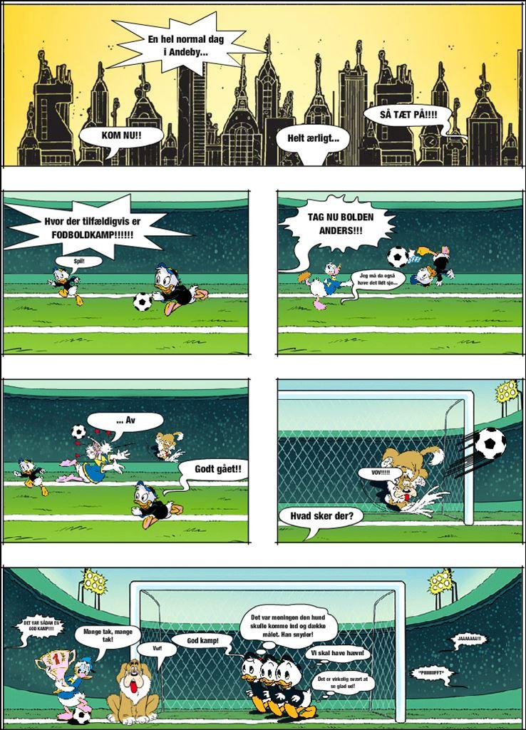 Den ikke så lovlige fodboldkamp. (test)