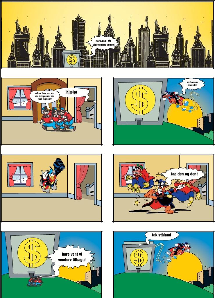 stålanden redder joakim`s penge