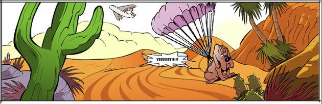 Urealistisk tegneserie :P