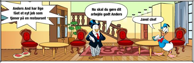 Anders And som tjener