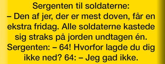 Lørdagslatter40/17