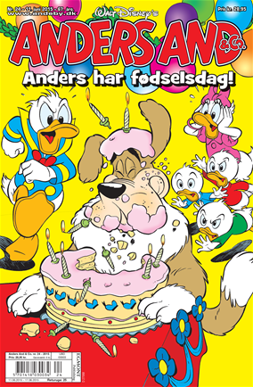 Anders And & Co. nr. 24, 2015